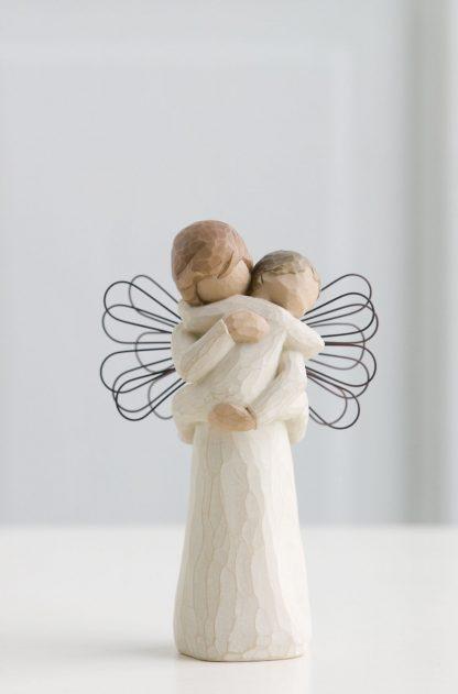 susan lordi figura estátua família anjo peça decoraçao casa significado amizade amor felicidade willow tree desejo aniversário presente abraço