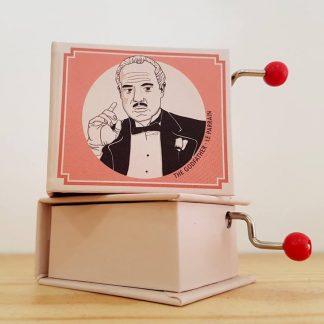 the godfather padrinho realejo caixa de música