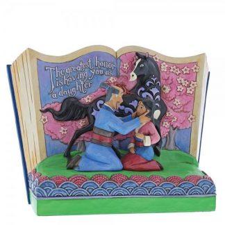 disney traditions jim shore mulan storybook