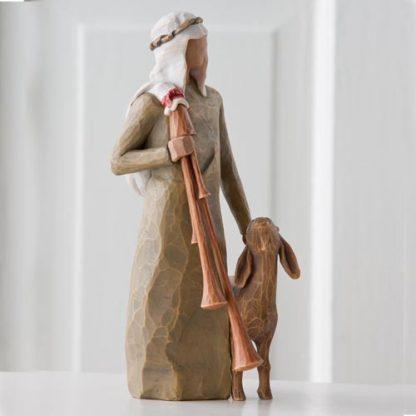 figura estátua família anjo peça decoraçao casa significado amizade amor felicidade willow tree desejo aniversário presente pastor presépio