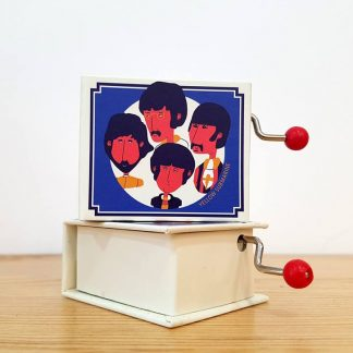 caixa de música realejo yellow submarine the beatles