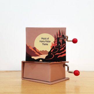 caixa de música realejo harry potter wondrous world