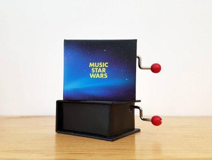 caixa de música realejo star wars