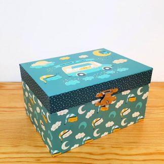 caixa de música caixa de bailarina pinguins