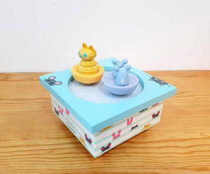 caixa de música bebés presente de nascimento baptizado