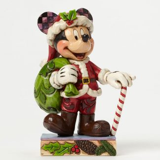 jim shore heartwood creek pai natal pavão presépio minnie disney traditions mickey