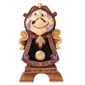 disney traditions jim shore cogsworth bela e o monstro