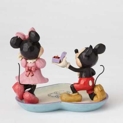 4055436 magic moment mickey minnie disney traditions jim shore