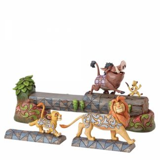 jim shore disney traditions lion king rei leão simba timon pumba
