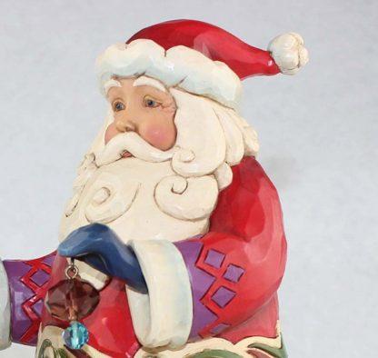 boneco de neve jim shore heartwood creek natal pai natal