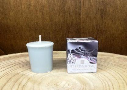 queimador de óleo queimador de cera soja copo vela votiva heart and home cera líquida vela de soja