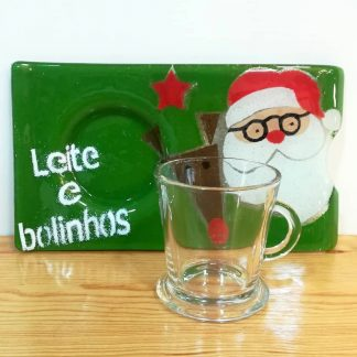 anjo natal artesanato sílvia duarte prato leite e bolinhos pai natal