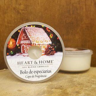 vela sugestão prenda natal vela de soja heart and home
