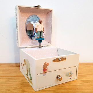 caixa de música bailarina princesa celestine