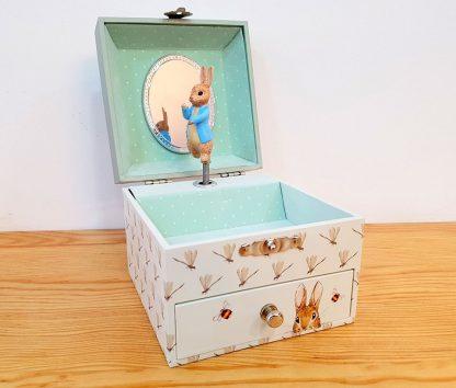 caixa de música bailarina princesa petter rabbit