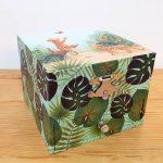 caixa de música bailarina princesa selva savana