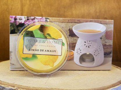 limão de amalfi heart and home vela de soja