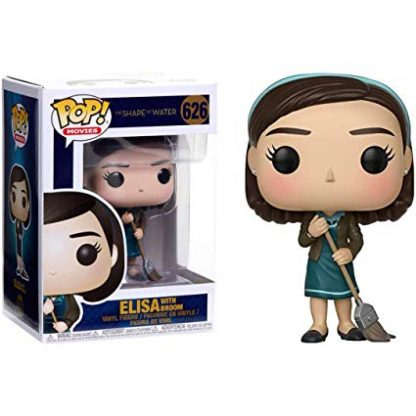 the shape of water forma da água elisa funko pop