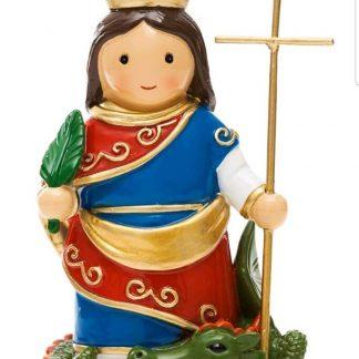 santa bárbara anjo santo religião religion cute fofo comunhão batizado baptizado figura religiosa anjinho guarda menina menino baptismo