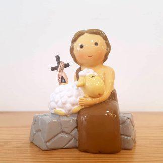 são joão baptista anjo santo religião religion cute fofo comunhão batizado baptizado figura religiosa anjinho guarda menina menino baptismo