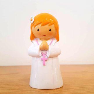 acólita anjo santo religião religion cute fofo comunhão batizado baptizado figura religiosa anjinho guarda menina menino baptismo