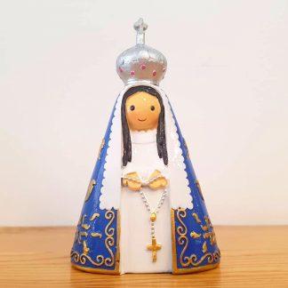 nossa senhora da guia anjo santo religião religion cute fofo comunhão batizado baptizado figura religiosa anjinho guarda menina menino baptismo