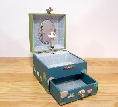 caixa de música caixa de bailarina princesa minnie
