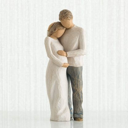 Figura O Nosso Lar (Gravidez Casal) - Willow Tree 26252 home casal gravidez