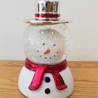 globo de neve snowglobe rena rodolfo pai natal natal boneco de neve