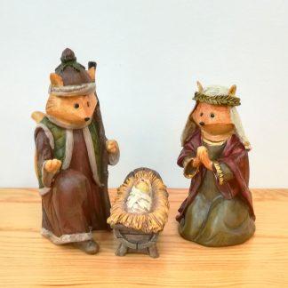presépio original colecção sagrada família raposa