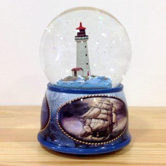 caixa musica magia realejo corda decoração globo snowglobe