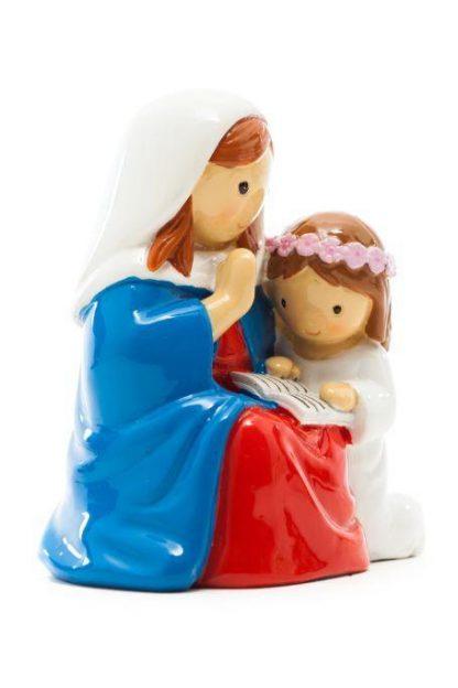 santa ana anjo santo religião religion cute fofo comunhão batizado baptizado figura religiosa anjinho guarda menina menino baptismo