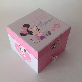 caixa de música bailarina princesa minnie