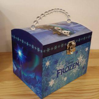 caixa de música caixa de bailarina fada frozen let it go