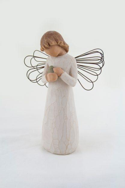 figura estátua família anjo peça decoraçao casa significado amizade amor felicidade willow tree desejo aniversário presente cura susan lordi