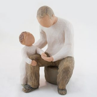 susan lordi figura estátua família anjo peça decoraçao casa significado amizade amor felicidade willow tree desejo aniversário presente avô