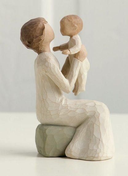 susan lordi figura estátua família anjo peça decoraçao casa significado amizade amor felicidade willow tree desejo aniversário presente avó