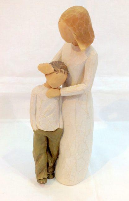 susan lordi figura estátua família anjo peça decoraçao casa significado amizade amor felicidade willow tree desejo aniversário presente mãe filho