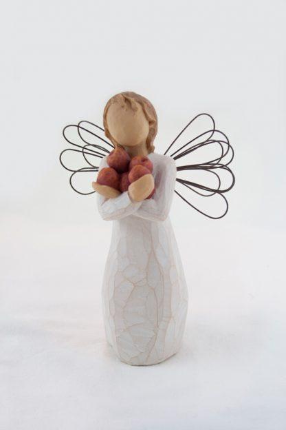 susan lordi figura estátua família anjo peça decoraçao casa significado amizade amor felicidade willow tree desejo aniversário presente boa saúde