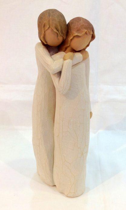 susan lordi figura estátua família anjo peça decoraçao casa significado amizade amor felicidade willow tree desejo aniversário presente crisálida mãe