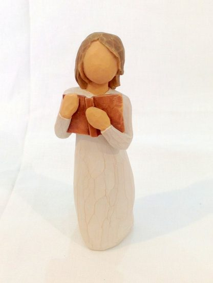 susan lordi figura estátua família anjo peça decoraçao casa significado amizade amor felicidade willow tree desejo aniversário presente conhecimento