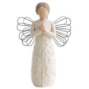 susan lordi figura estátua família anjo peça decoraçao casa significado amizade amor felicidade willow tree desejo aniversário presente oração paz anjinho