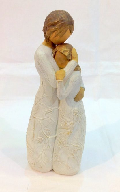 susan lordi figura estátua família anjo peça decoraçao casa significado amizade amor felicidade willow tree desejo aniversário presente junto a mim mãe