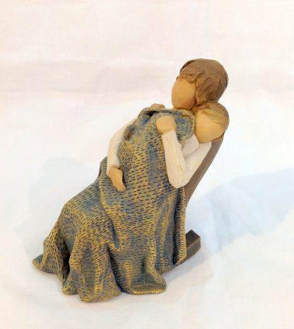susan lordi figura estátua família anjo peça decoraçao casa significado amizade amor felicidade willow tree desejo aniversário presente colo mãe