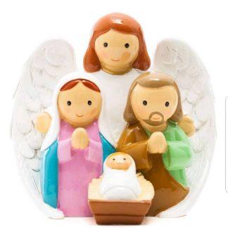 presépio anjo santo religião religion cute fofo comunhão batizado baptizado figura religiosa anjinho guarda menina menino baptismo