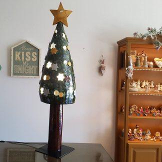 artesanato santo antónio rita macedo cerâmica pinheiro de natal candeeiro