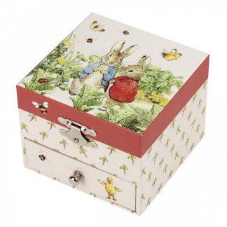 caixa de música caixa de bailarina peter rabbit