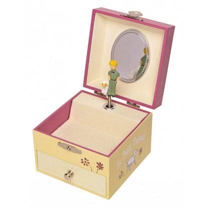 caixa de música caixa de bailarina princesa principezinho
