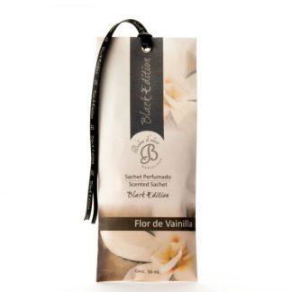saqueta black edition flor de baunilha boles d'olor anti-traça humidade
