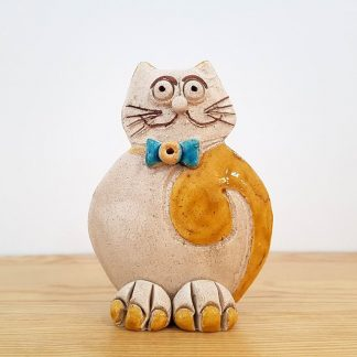 artesanato rita macedo cerâmica mocho natal gato